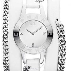 Armani Exchange White watch